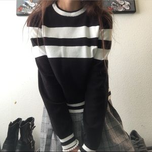 Soft striped sweater Brandy Melville
